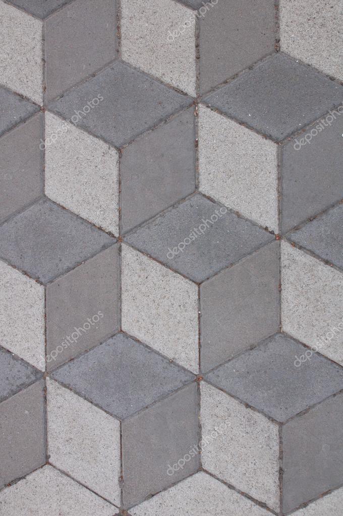 Graue Pflaster Fliesen Textur Fur Hintergrund Stockfoto