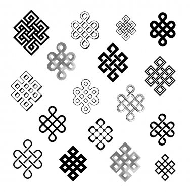 Set collection of the endless knots