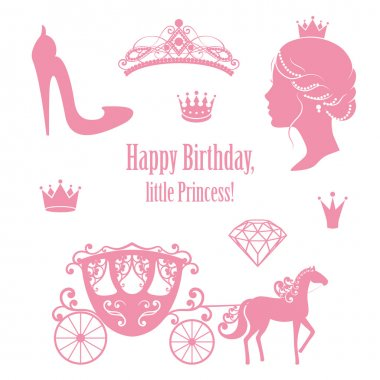 Princess Cinderella set collections.