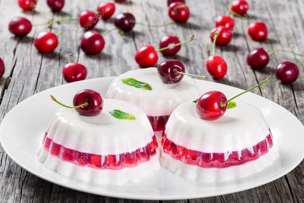 gelatin i grädde