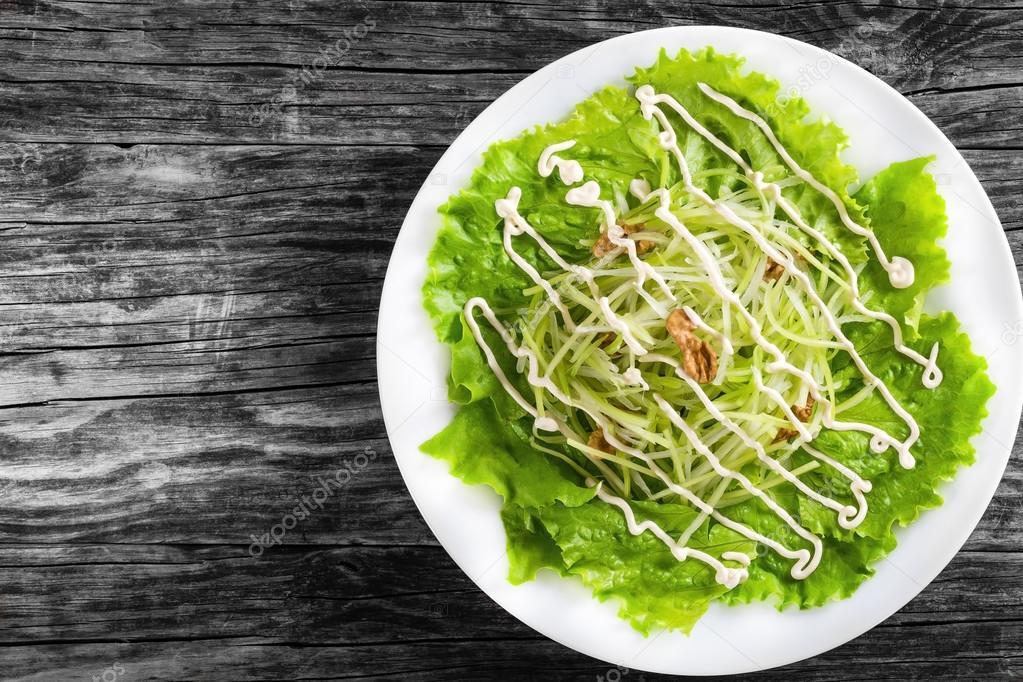 Waldorf Salatası Yeşil Elma Kereviz Ve Ceviz Ana Sayfa Görünümü