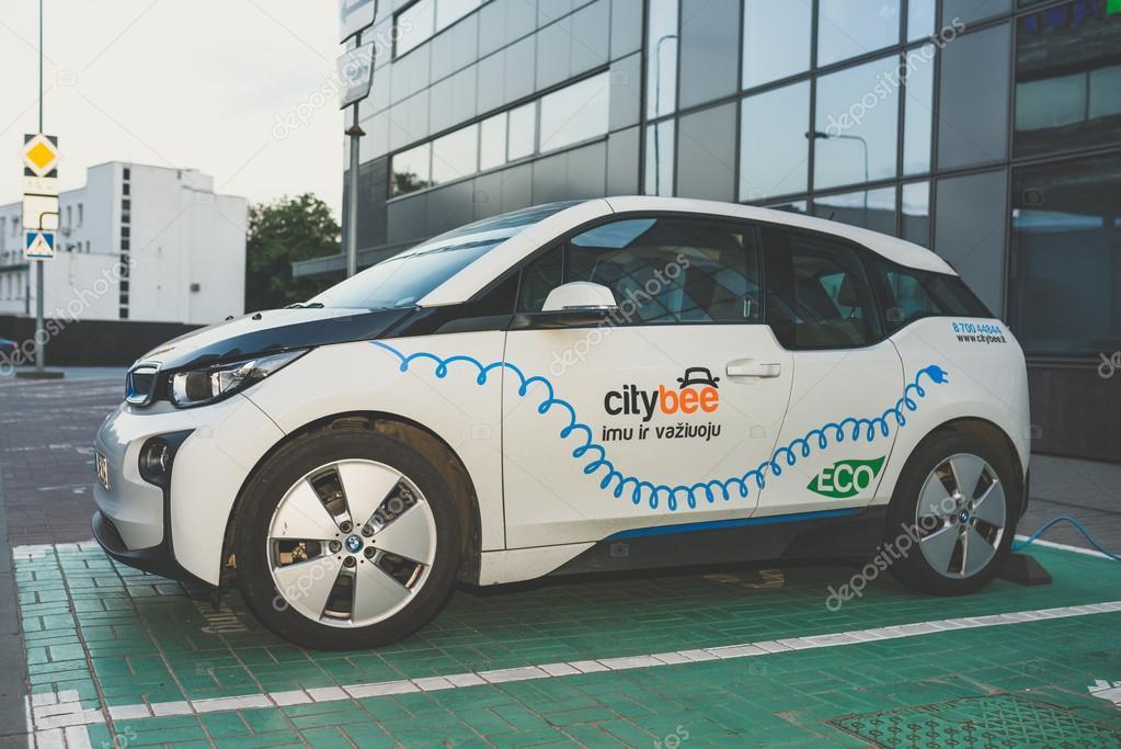Electric Car Bmw I3 Stock Editorial Photo C Afotoeu 119184456