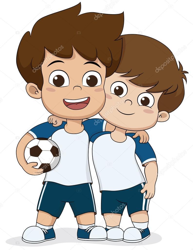Imágenes: dos niños animados | Dibujos animados los niños ...