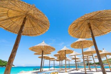 Sunshade beach umbrellas