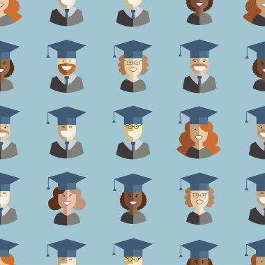 Men and women graduates
