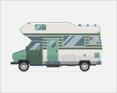 Camping Trailer Family Traveler Truck