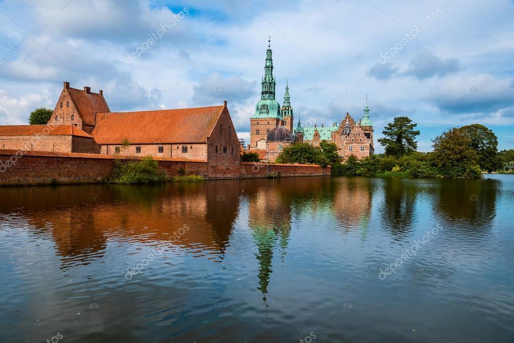 Frederiksborg Castle in Copenhagen, Denmark