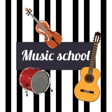 Music school Sign