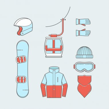 Skiing and snowboarding gear