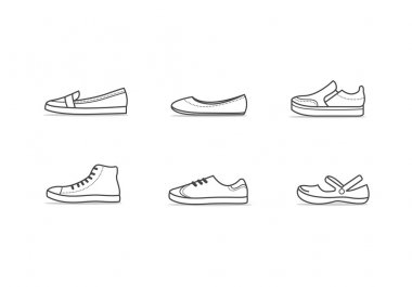 Types of comfortable walking woman shoes