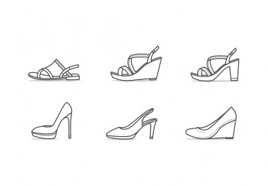 Types of woman shoes