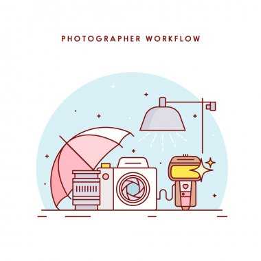 The photographers workflow.