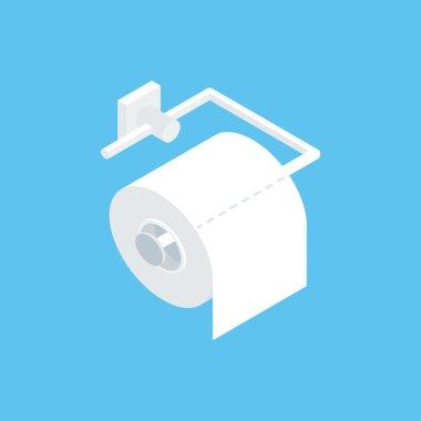 Fixing toilet paper holder.