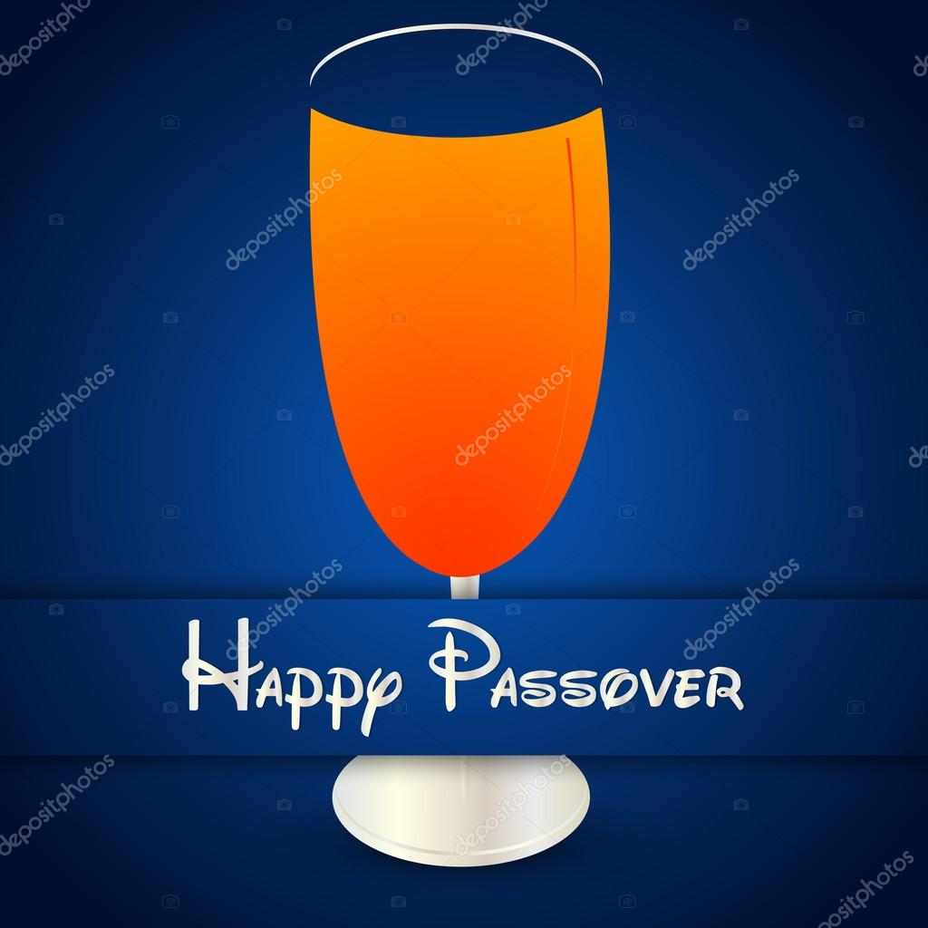 Happy Passover Abstract