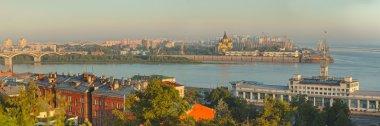 landscape of Nizhniy Novgorod