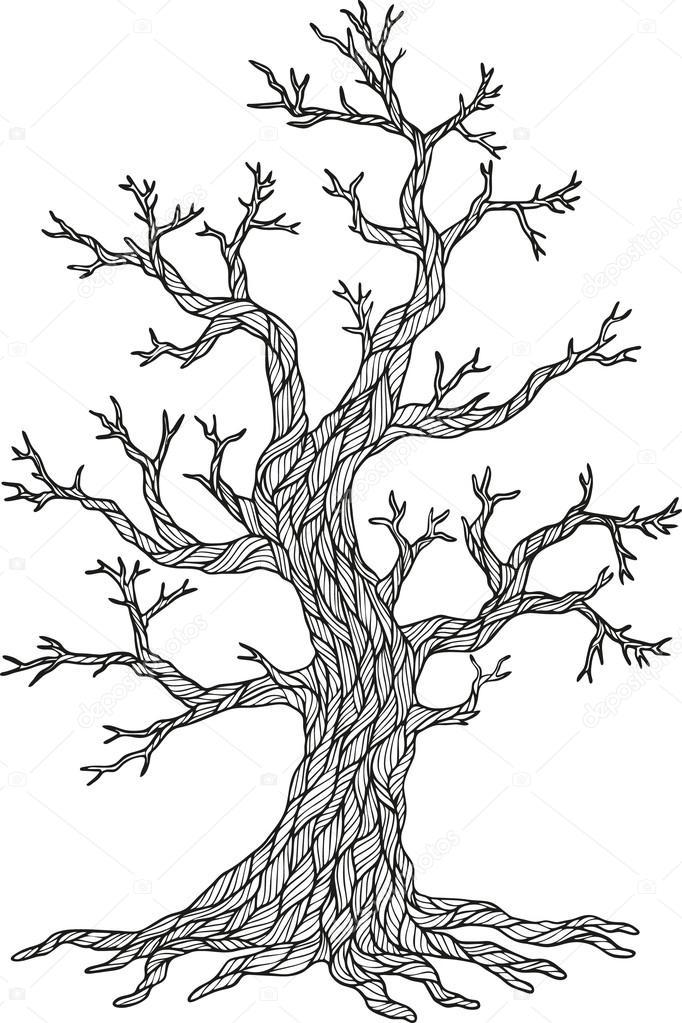 árbol otoño Vector — Archivo Imágenes Vectoriales © natasha-tpr ...