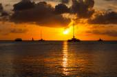 Photo beautiful Aruba sunset