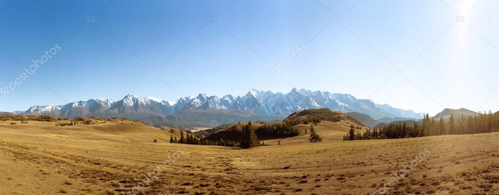 High resolution panorama of Altai