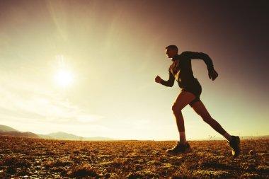 Running man concept
