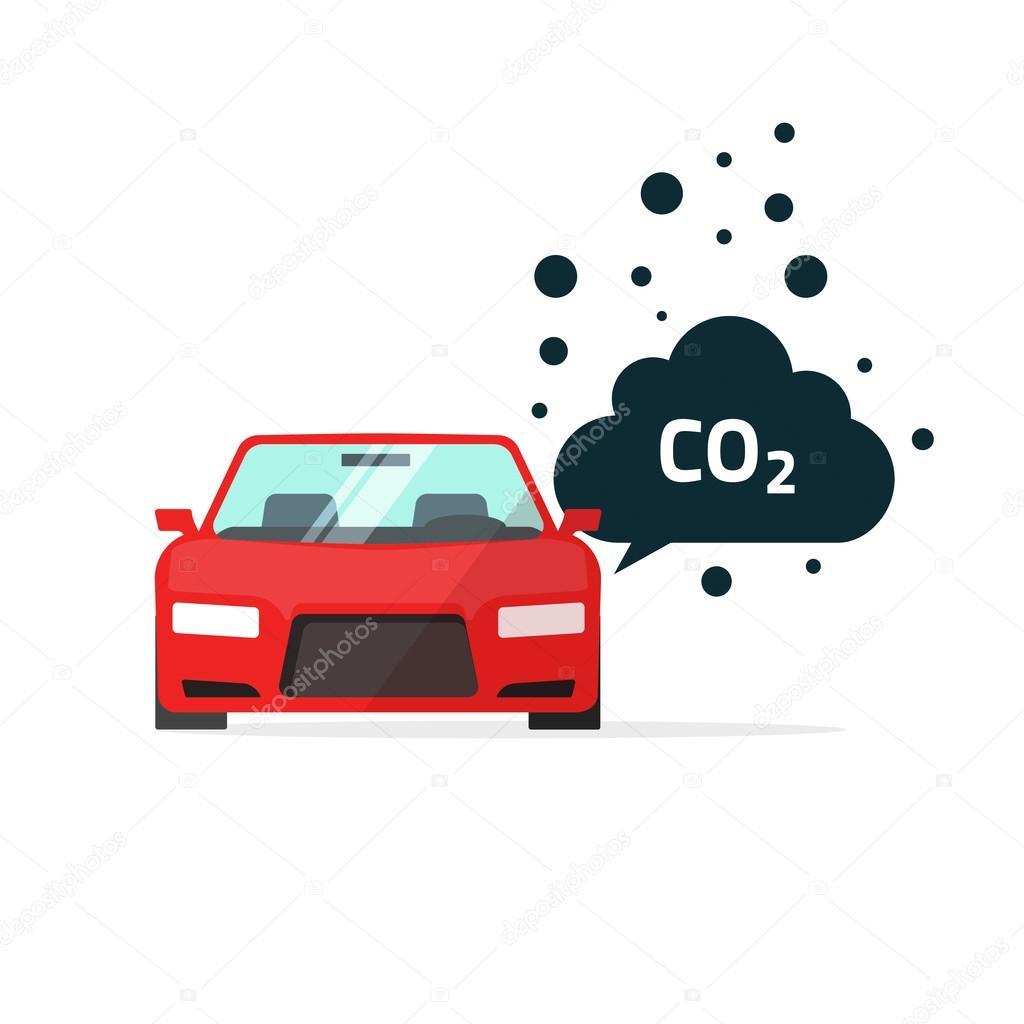 Co2 emissions vector illustration car carbon dioxide emits symbol co2 emissions vector illustration car carbon dioxide emits symbol stock vector buycottarizona Images