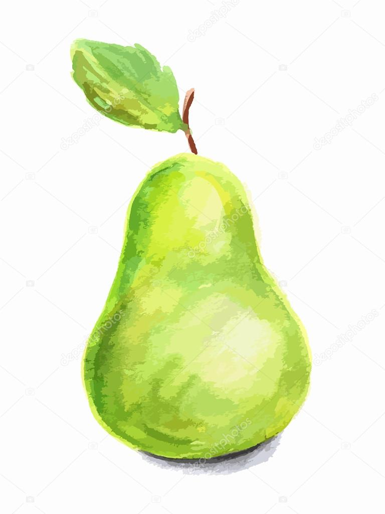 Pear Shaped Fruit  Letters