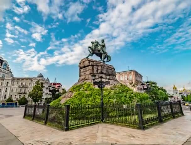 Circular View of the Monument to Hetman Bogdan Khmelnitsky