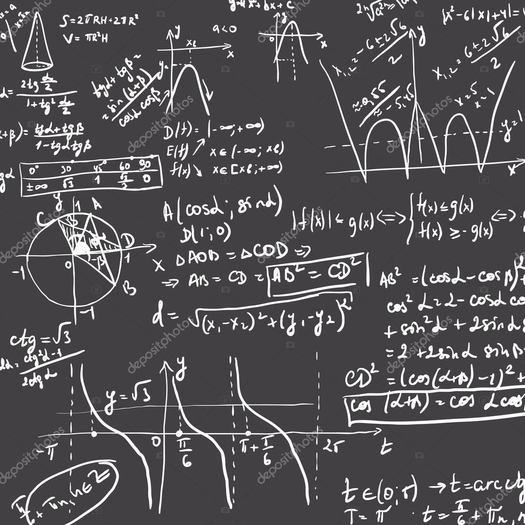 если картинки с математическими формулами и графиками котята кремового
