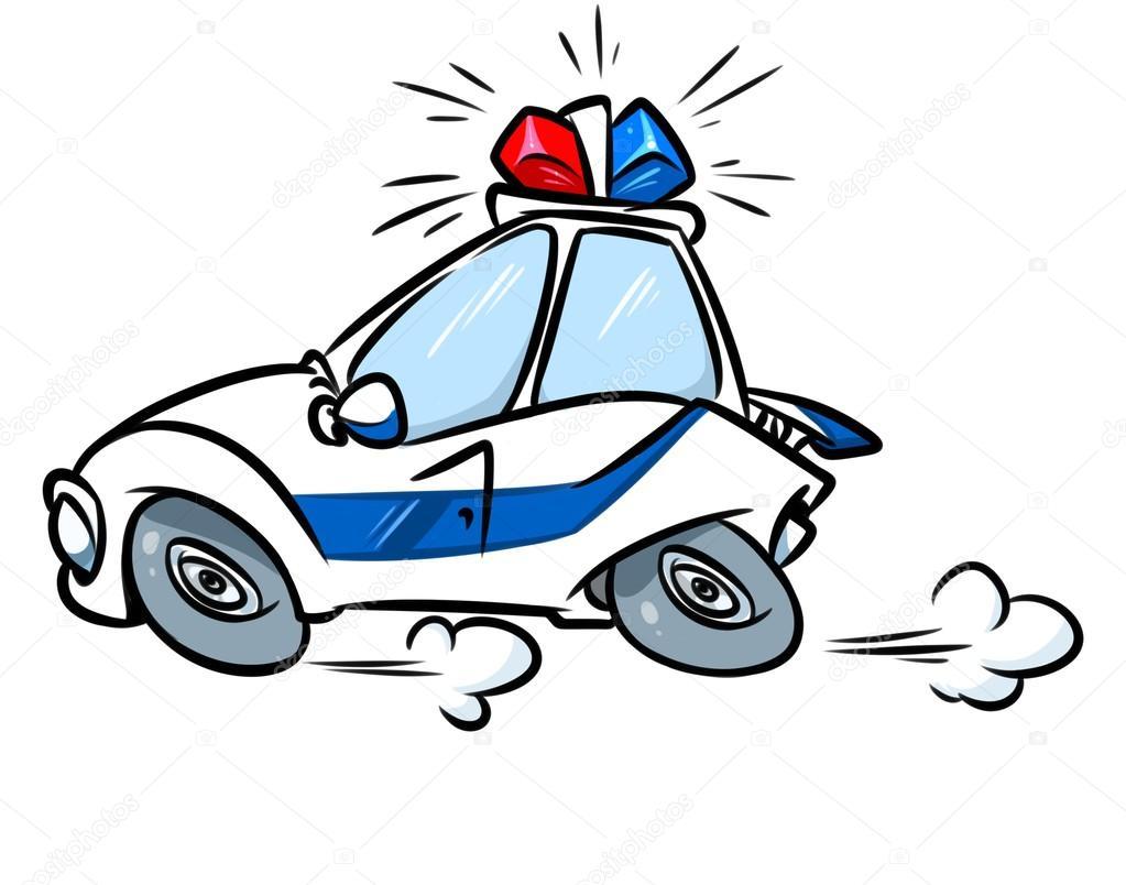Voiture de police de dessin anim photographie efengai 105550434 - Voiture police dessin anime ...