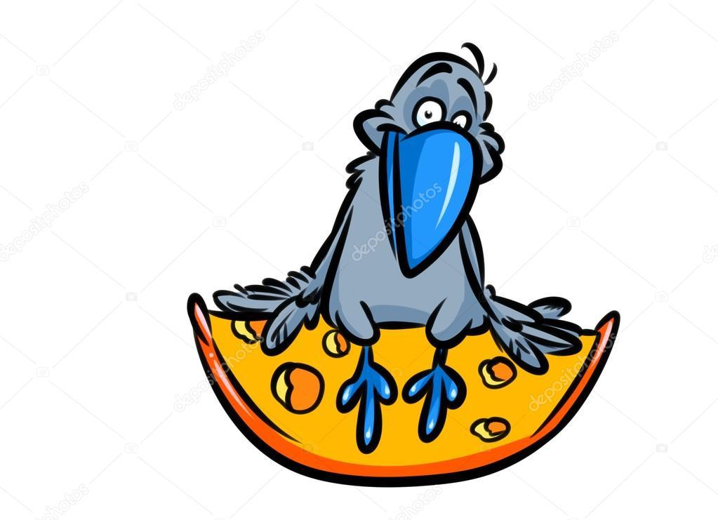 Dibujos Animados El Gallo Queso Fábula