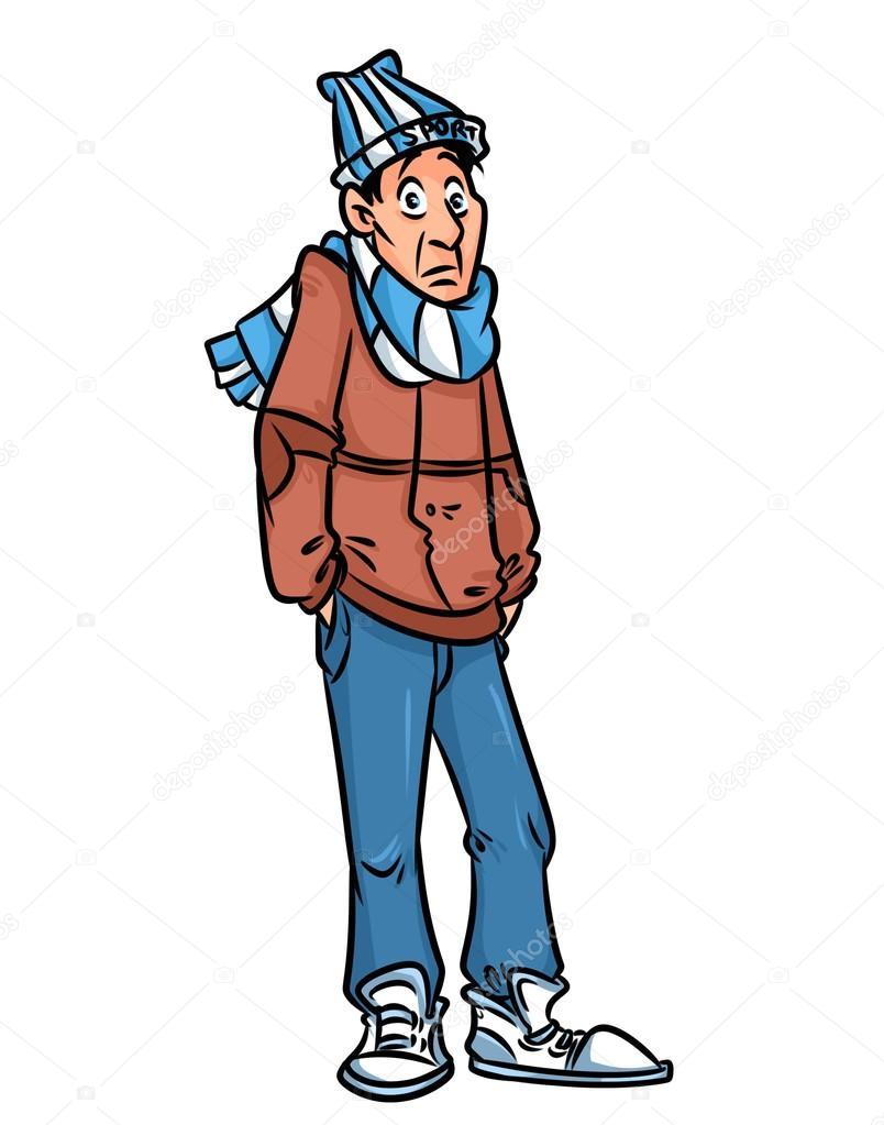 iikids Niños Cartoon encapuchados por la chaqueta de pluma ...