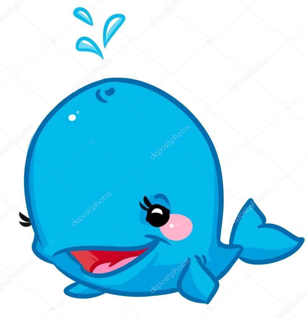 dibujos animados de ballena azul foto de stock  u00a9 efengai whale clip art baby shower whale clip art black and white