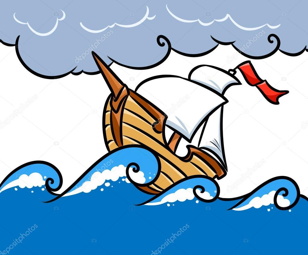 dibujos de animados mar barco de tormenta foto de stock pirate ship clip art silhouette pirate ship clip art black and white