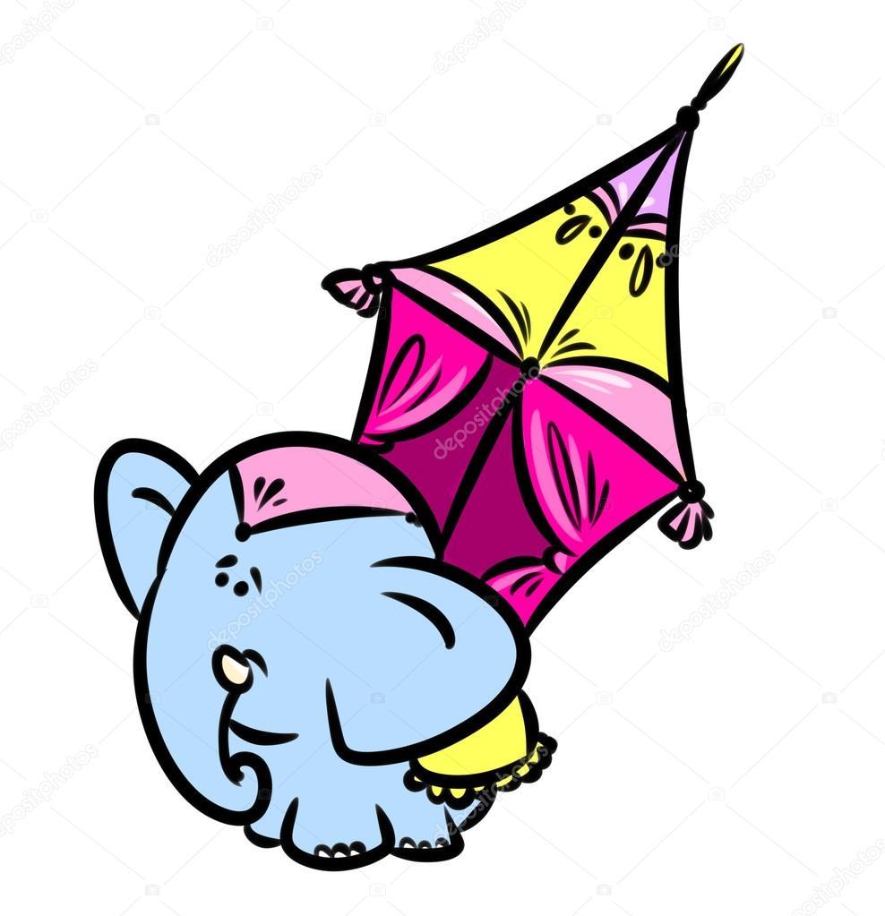 Dibujos Elefantes Indios Dibujos Animados De Elefante Indio