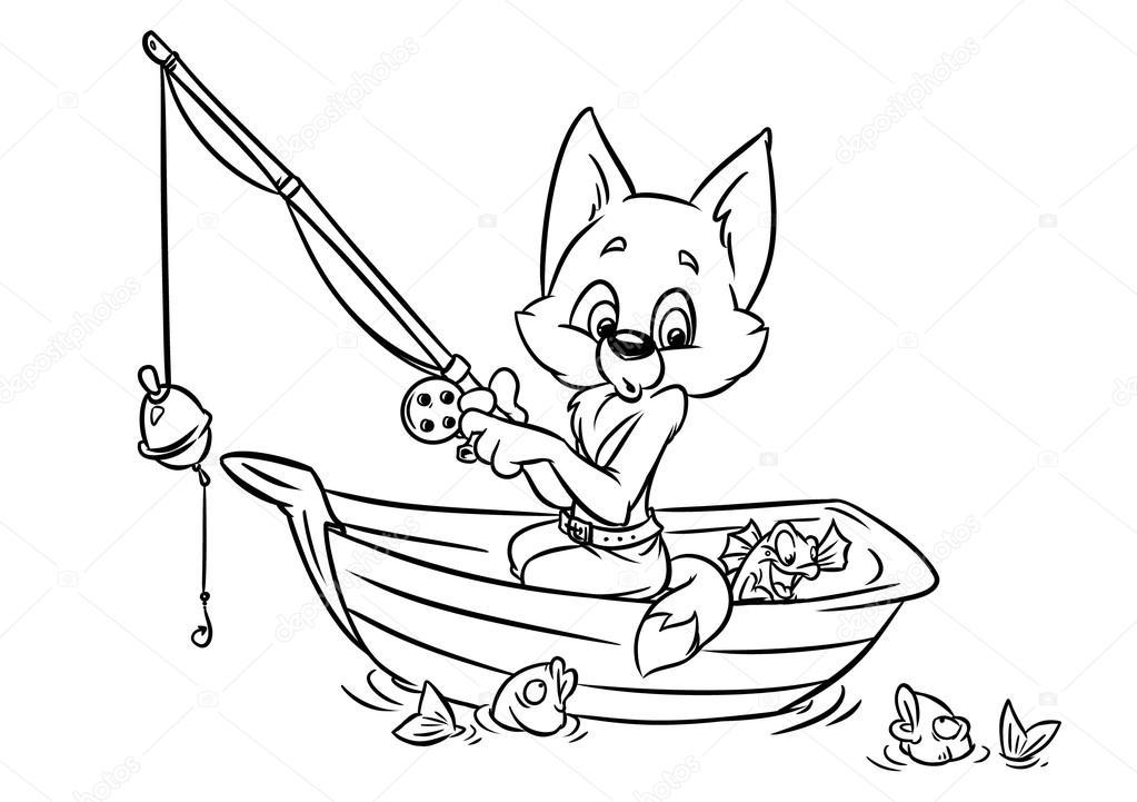 Dibujos Para Colorear Un Pescador: Pescador Dibujo. Elegant Pescador Indio. Affordable El