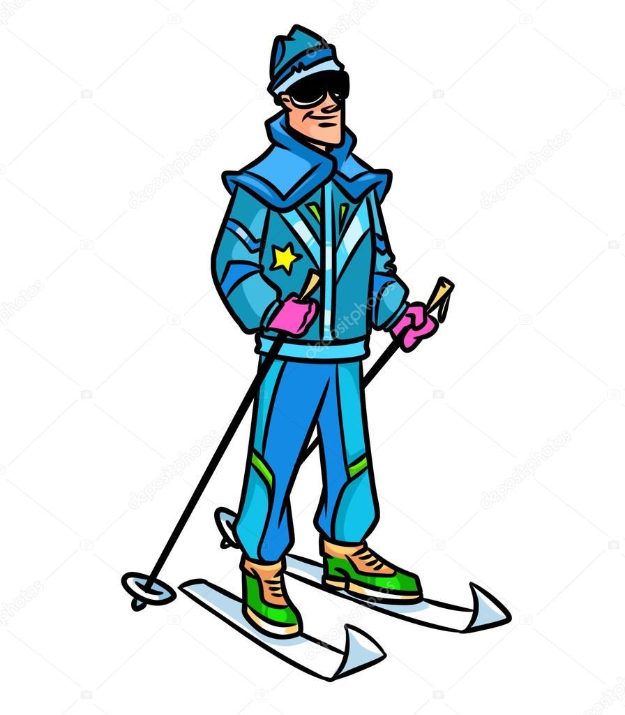 Resultado de imagen de dibujo ropa esqui