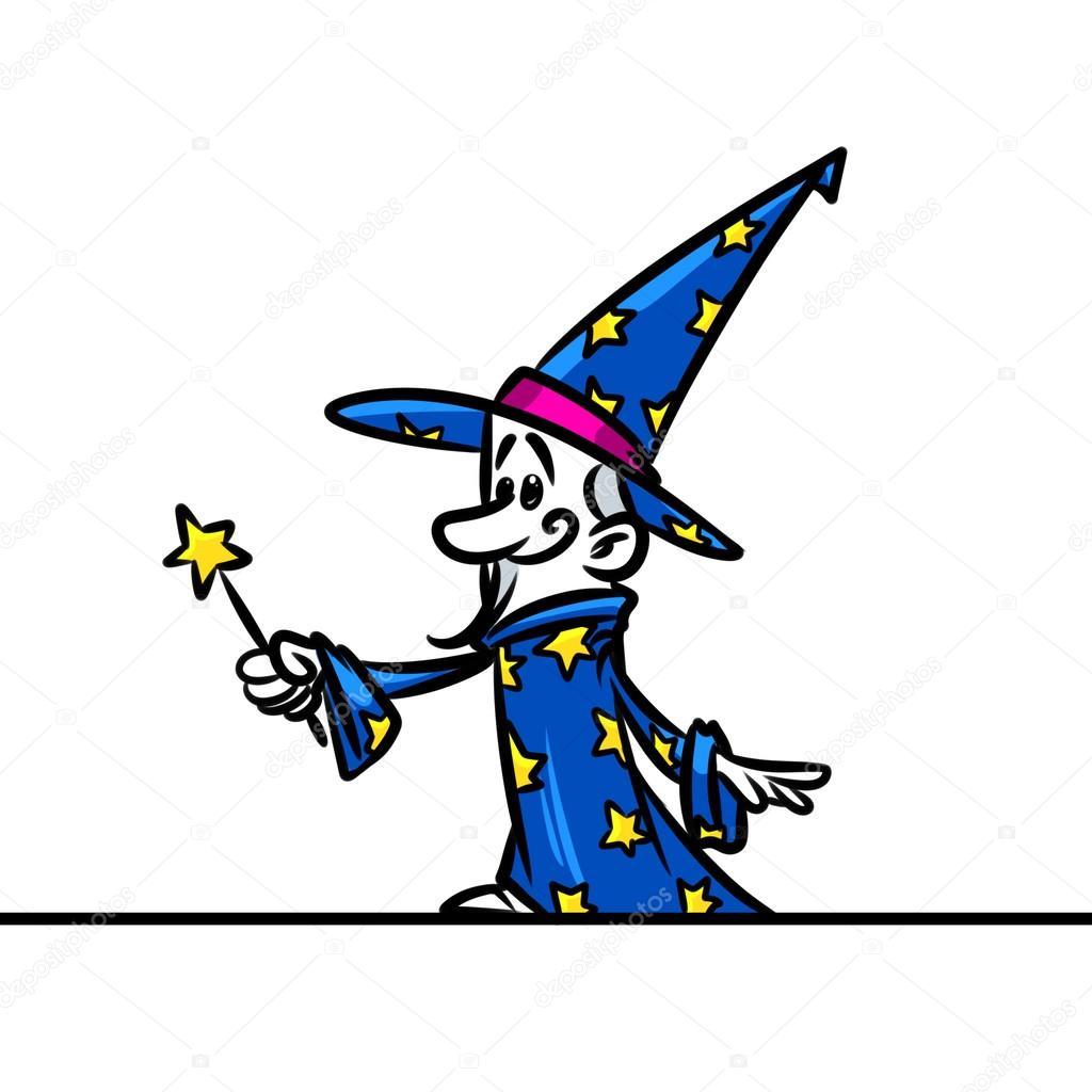 Cartone animato di magia personale guidata — foto stock