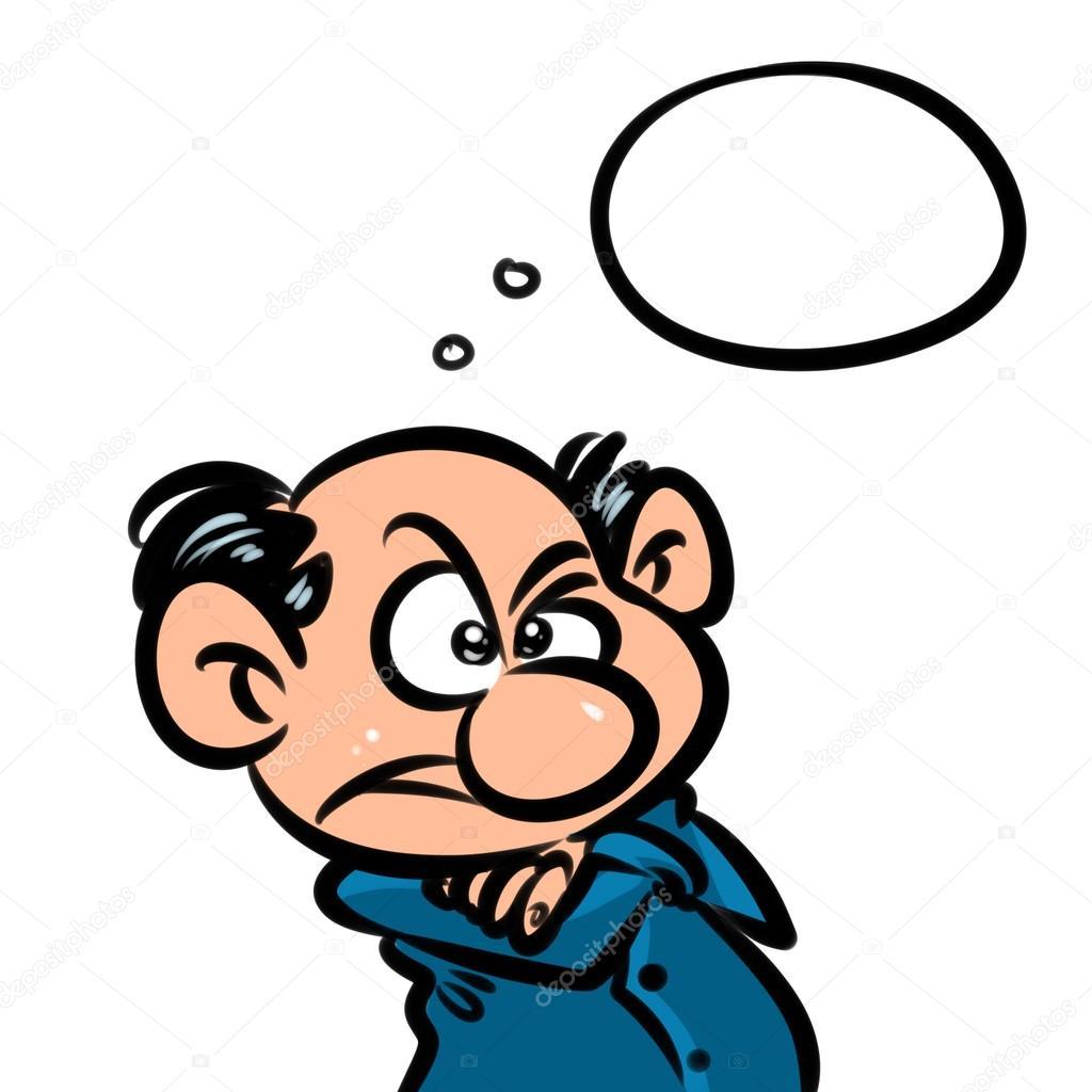 grumpy man character cartoon stock photo efengai 113667908 rh depositphotos com grumpy female cartoon characters grumpy male cartoon characters