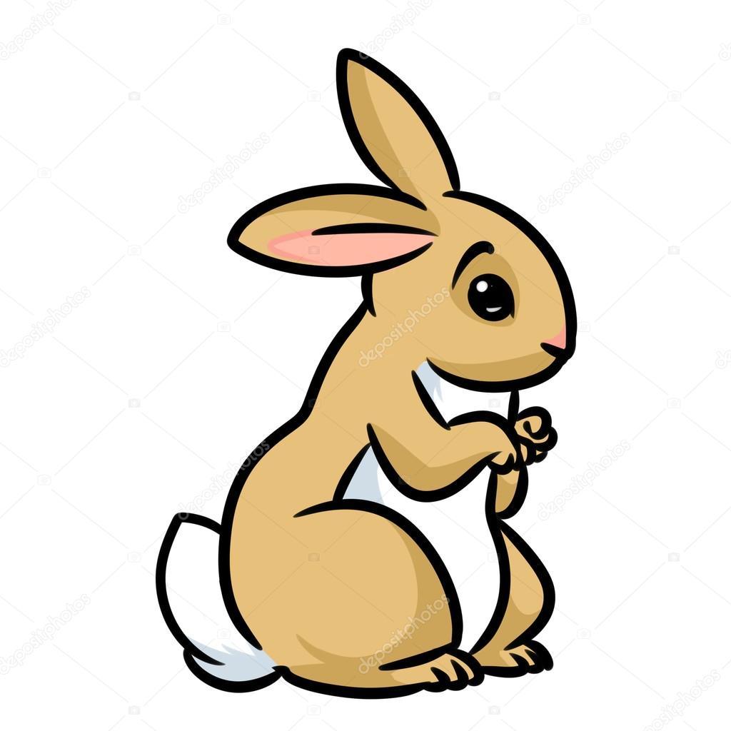 Dessin animé lapin