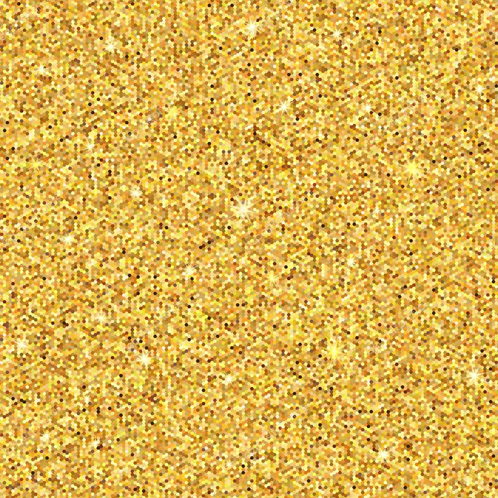 Glitter Gold: Gold Sparkles. Gold Glitter Background. Gold Background