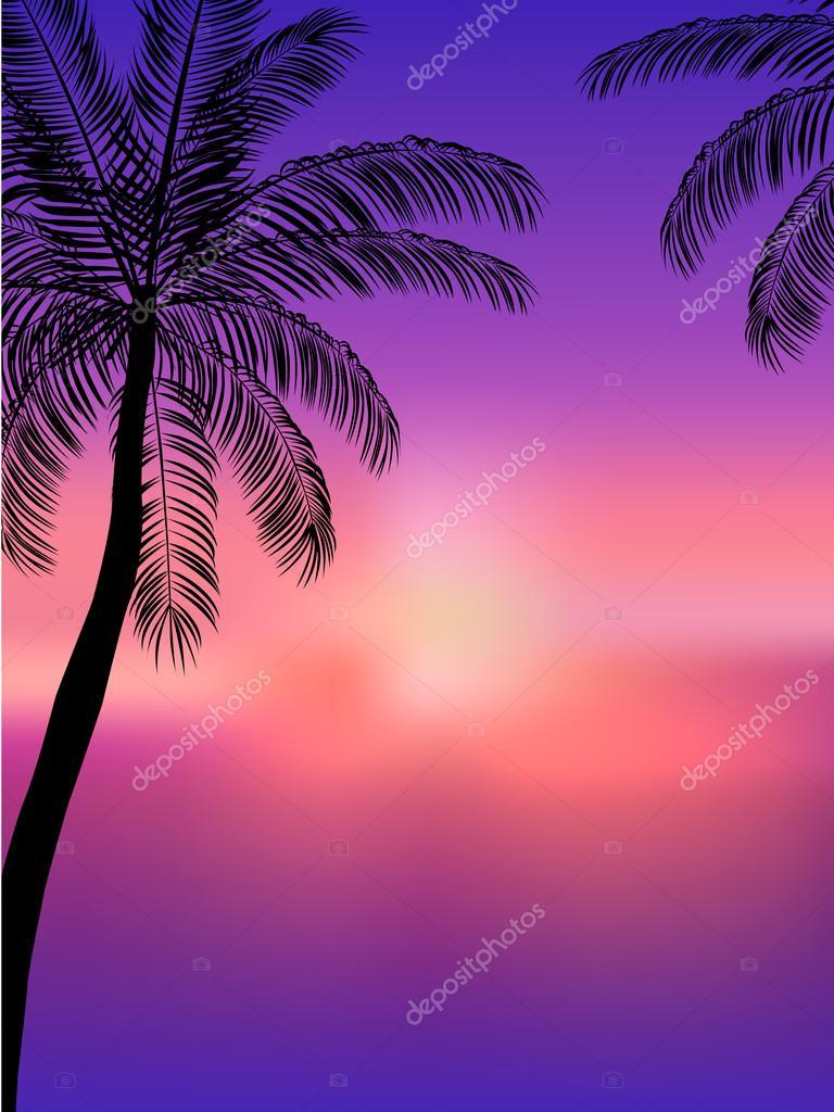 Amado Fundo de verão. Panfleto de festa de praia — Vetor de Stock  VH63