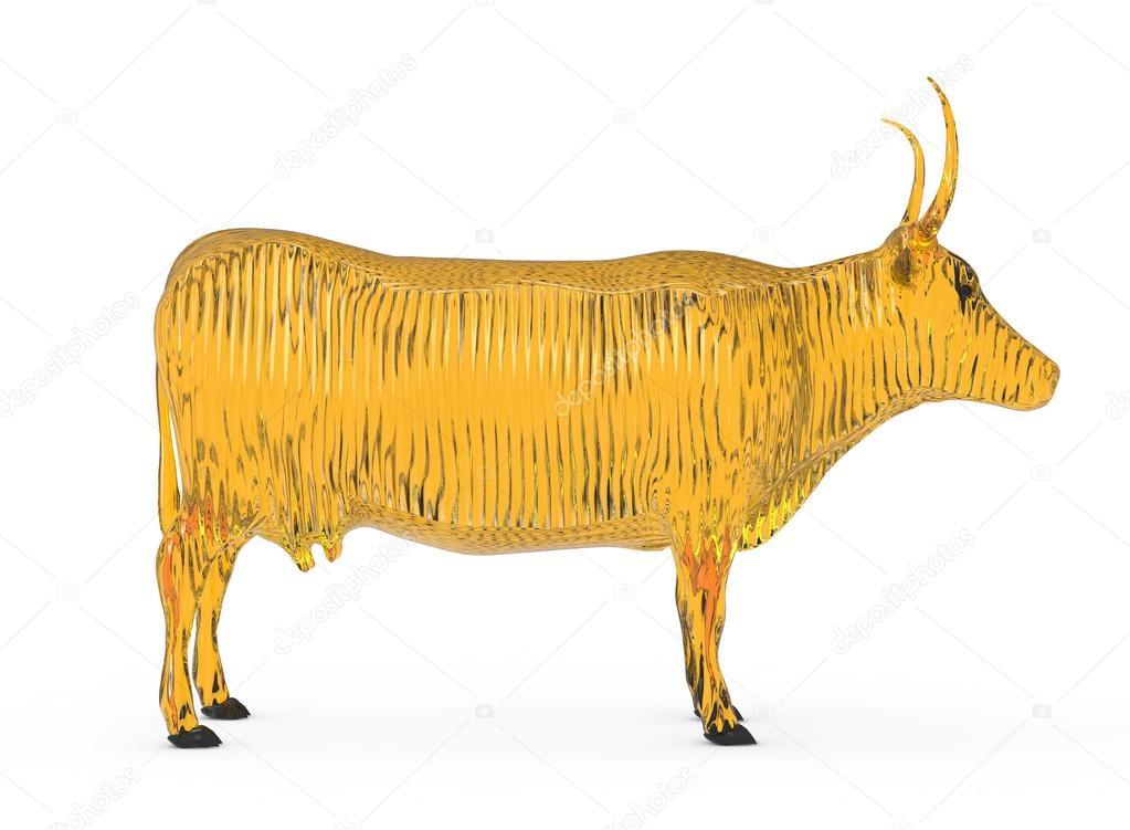 Золотая корова картинки