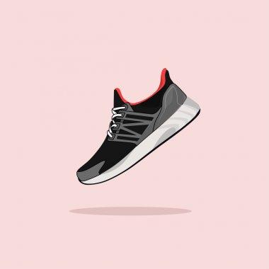 Vector running shoes - sneakers