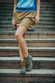 Fotografie beautiful female legs