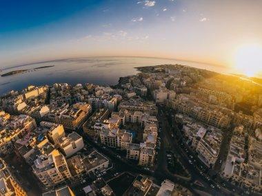 Evening view of Malta