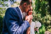 Fotografie bride groom portrait