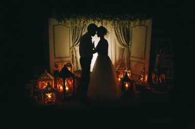 wedding ceremony with candles