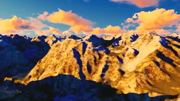 umění hory malované