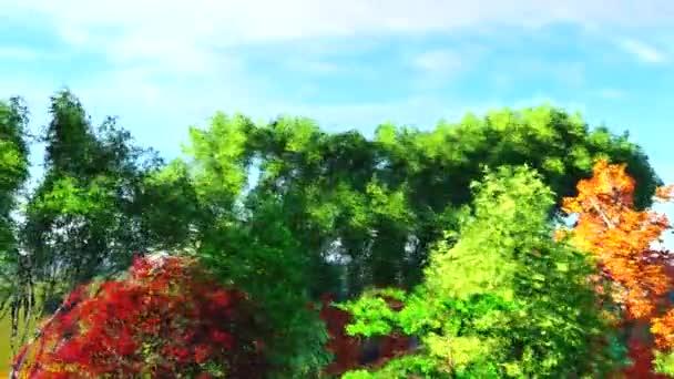 Barevné stromy umění