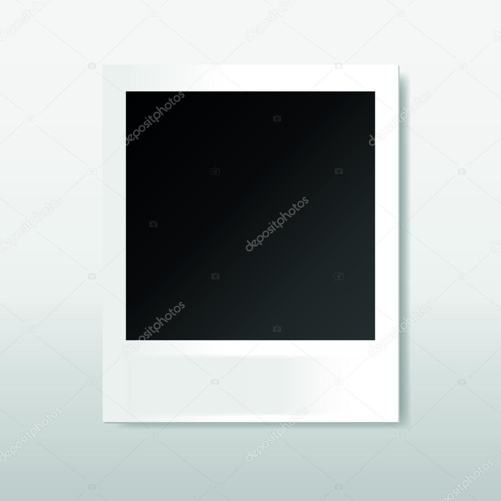 polaroid frame for your text or photo — Stock Vector © v.shevchick ...