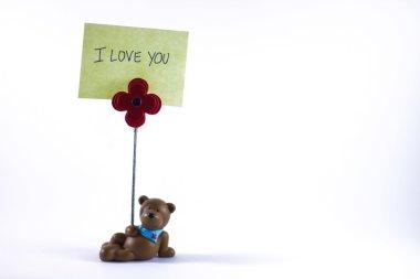 Teddy Bear with I Love You